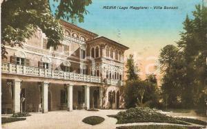 1939 MEINA (NO) Veduta di Villa Bonomi *Cartolina FP VG