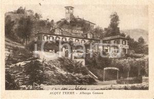 1965 ACQUI TERME (AL) Panorama con Albergo GENOVA *Cartolina FP VG