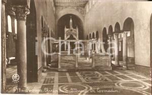 1950 ca ROMA Chiesa di Santa Maria di Cosmedin *Cartolina FP NV