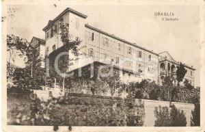 1911 GRAGLIA (BI) Veduta del Santuario *Cartolina FP VG