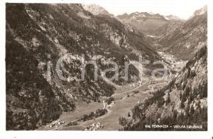 1951 VAL FORMAZZA (VB) Veduta generale della valle *Cartolina FP VG