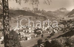 1959 MOENA (TN) Panorama con Gruppo del CATINACCIO *Cartolina FP VG