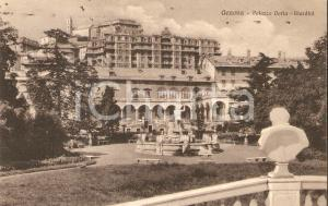 1931 GENOVA Giardini di Palazzo DORIA *Cartolina FP VG