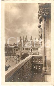 1920 ca VENEZIA PALAZZO DUCALE Pergolo verso Basilica SAN MARCO *Cartolina FP NV