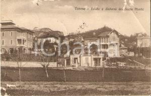 1918 VARESE - VELATE e dintorni del SACRO MONTE *Cartolina DANNEGGIATA FP VG