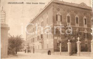 1925 ca SALSOMAGGIORE TERME  (PR) Hotel Grande Detraz *Cartolina FP VG