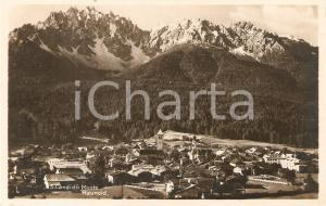 1930 ca SAN CANDIDO (BZ) Panorama del paese *Cartolina FP NV