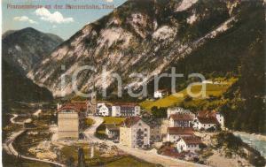 1930 ca FORTEZZA / FRANZENSFESTE (BZ) Panorama *Cartolina FP NV