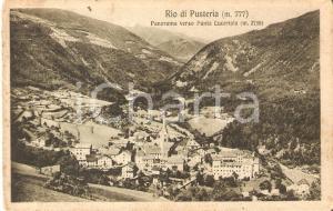 1928 RIO DI PUSTERIA (BZ) Panorama verso Punta Lucertola *Cartolina FP NV