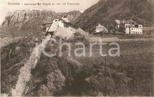 1925 ca BOLZANO Funicolare del Virgolo col ristorante *Cartolina FP NV