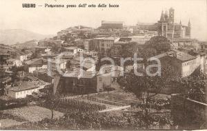 1930 ca URBINO Panorama dall'Orto delle Bocce *Cartolina FP NV