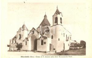1930 ca ALBEROBELLO (BA) Chiesa di Sant'Antonio TRULLI *Cartolina FP NV