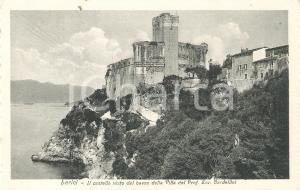 1934 LERICI (SP) Castello dalla villa del Prof. Enrico BARDELLINI *Cartolina FP