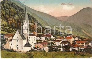 1910 ca CAMPO DI TRENS (BZ) Santuario MARIA DI TRENS *Cartolina FP VG