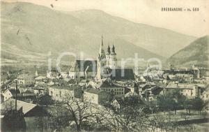 1931 BRESSANONE (BZ) Panorama con campanili *Cartolina FP VG