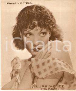 1940 ca CINEMA Ritratto Lupe VELEZ *Allegato al n. 43 di STELLE