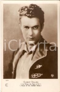 1927 ROSE OF THE GOLDEN WEST Gilbert ROLLAND in una scena del film *Cartolina FP