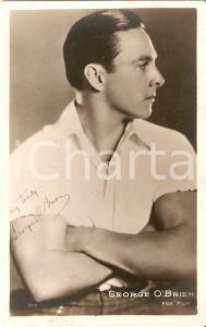 1927 CINEMA Actor George O'BRIEN Portrait *Cartolina FP NV