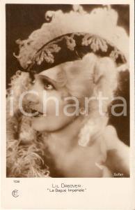 1925 ca LA BAGUE IMPERIALE Lil DAGOVER in una scena del film *Cartolina FP NV