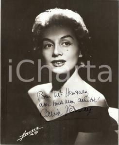 1960 ca FRANCE Portrait de la chanteuse Carole VERNAY *Photo HERRERA AUTOGRAPHE