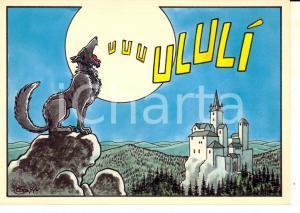 1980 ca MILANO Corso BUENOS AIRES Frulleria vegetariana ULULI' *Cartolina
