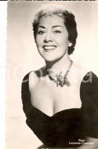 1955 ca PARIS MUSICA Ritratto della cantante ROBERTA *Foto seriale 9x14