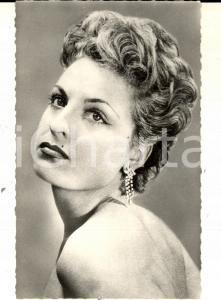 1960 ca PARIS MUSICA Ritratto della cantante Ginette ROLLAND *Foto seriale 9x14
