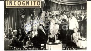 1955 ca PARIS INCOGNITO IGOLEN con Eddie CONSTANTINE e Tilda THAMAR *AUTOGRAFO