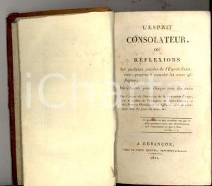 1821 Alexandre Joseph ROUVILLE L'Esprit consolateur *Veuve METOYER BESANCON