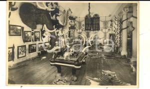 1940 ca PADOVA Palazzo DOLFIN BOLDU' Museo di caccia grossa *Cartolina FP NV