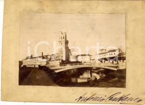 1910 ca PADOVA Veduta panoramica con la SPECOLA *Foto Antonio CATTANEO 15x11