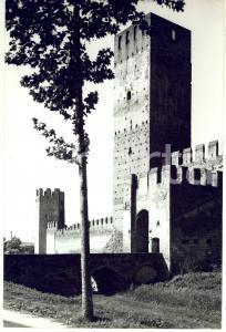 1971 CASTEL SAN ZENO Mastio di Ezzelino e Torre d'angolo *Foto ARTISTICA 20x30