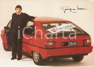 1980 ca CITROEN Formula EUROCASION Giampiero MARINI sponsor CITROEN BX Cartolina