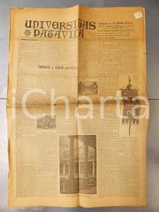 1922 UNIVERSITAS PATAVINA Supplemento POPOLO VENETO VII Centenario Univ, PADOVA