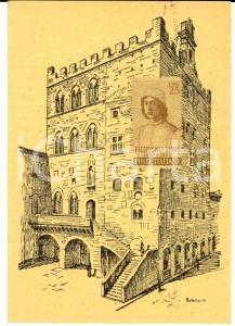 1968 STORIA POSTALE PRATO 1^ Mostra Filatelica - Cartolina annullo FDC L. 25