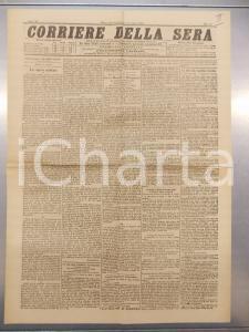 1890 CORRIERE DELLA SERA Accordo tra MENELIK II e Mangascià Yohannes Anno XV n96