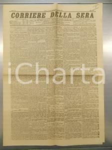 1890 CORRIERE DELLA SERA La ritirata di Re MENELIK II *Anno XV n.97