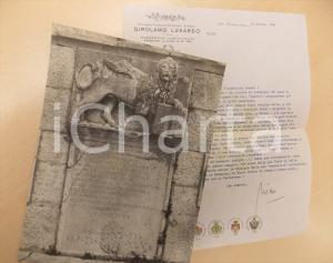 1968 TORREGLIA Nicolò LUXARDO DE FRANCHI e il leone veneto di NERESI *Autografo