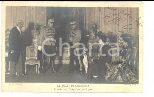 1906 VAUDEVILLE LE BILLET DU LOGEMENT - Scène du petit sac *Carte postale FP VG