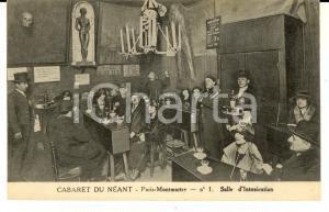 1910 ca PARIS MONTMARTRE Cabaret du Néant - Salle d'intoxication *Carte postale