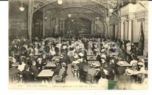 1910 ca AIX-LES-BAINS Opéra en plein air à la Villa des Fleurs *Carte postale