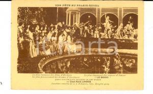 1920 ca PARIS Une fête au PALAIS-ROYAL - Film ciné MAX LINDER *Carte postale