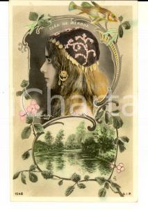 1907 FRANCE DANZA - BALLET Cléo de MERODE - Carte postale VINTAGE FP VG