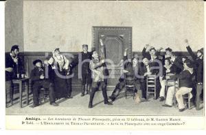 1910 ca FRANCE THEATRE AMBIGU - Les aventures de Thomas PLUMEPATTE Carte postale