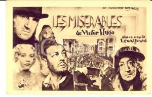 1934 CINEMA FILM Les misérables - Raymond BERNARD *Carte postale FP NV