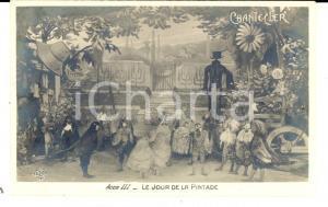 1910 THEATRE ROSTAND CHANTECLER Le jour de la pintade - Acte III *Carte postale