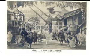 1910 THEATRE ROSTAND CHANTECLER L'arrivée de la faisane - Acte I *Carte postale