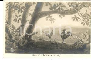 1910 THEATRE ROSTAND CHANTECLER Le matin du coq - Acte II *Carte postale