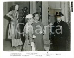 1952 MY WIFE BEST FRIEND Anne BAXTER calls Edgar DEARING as policeman *Photo