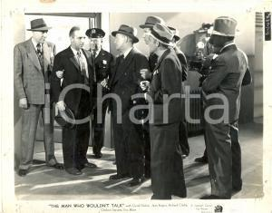 1940 THE MAN WHO WOULDN'T TALK Policemen arrest Llyod NOLAN Movie David BURTON